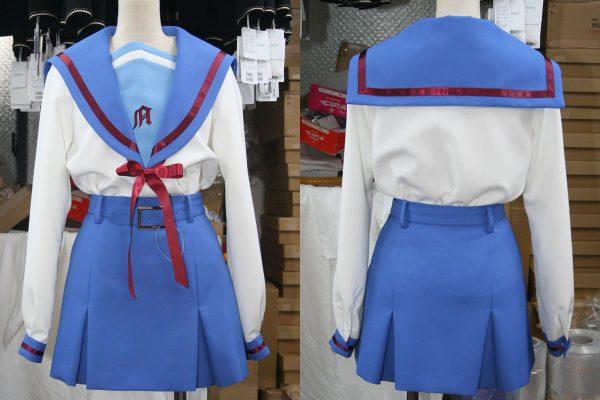 涼宮ハルヒの憂鬱 コスプレ 試作衣装2