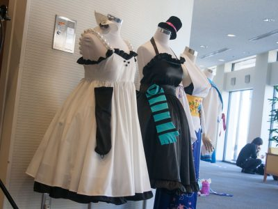 CFR横浜情文 コスプレイベント 衣装展示 けいおん!