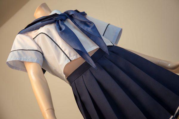 ラブプラス コスプレ衣装 十羽野高校女子制服 夏服 半袖