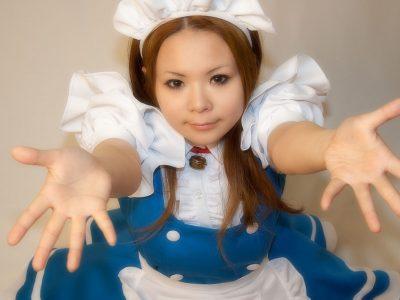 コスプレ ドラえもん メイド衣装 ネコ型メイド1