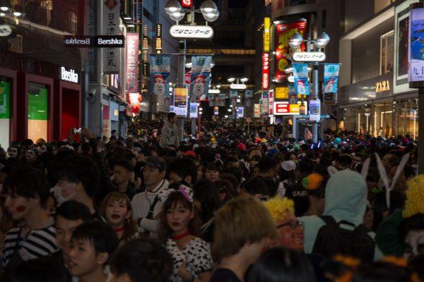 渋谷ハロウィン2018 センター街