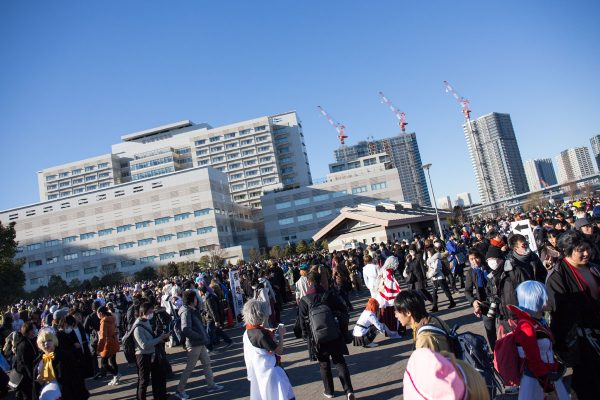 コミケC95 2日目 ビッグサイト 防災公園 コスプレエリア