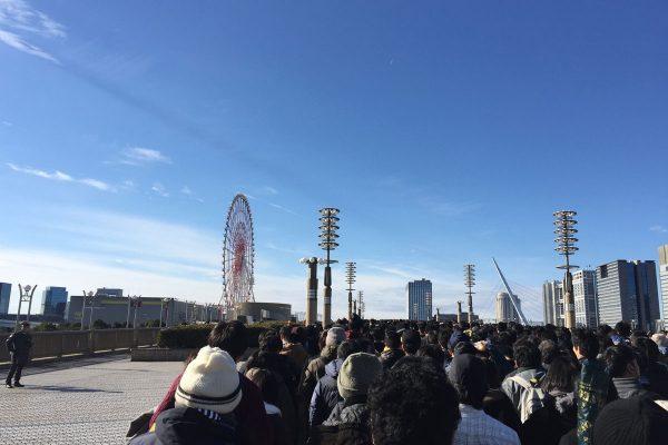 コミケC95 3日目 ビッグサイト 入場待機列