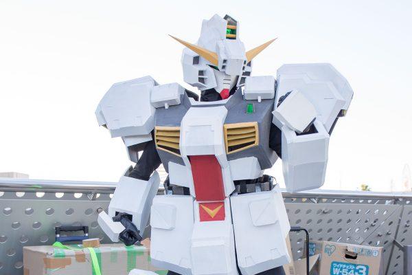 コミケC95 コスプレ ガンダムTR-1 ヘイズル改