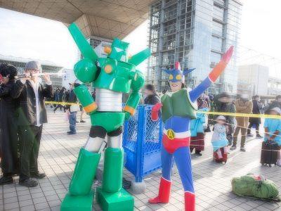 コミケC95 コスプレ クレヨンしんちゃん カンタムロボ アクション仮面