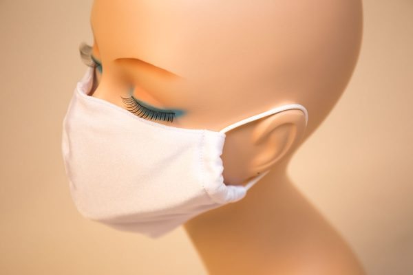 水着マスク ホワイト 白