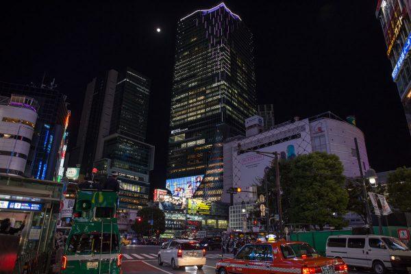 渋谷スクランブルスクエア 2020ハロウィンの夜