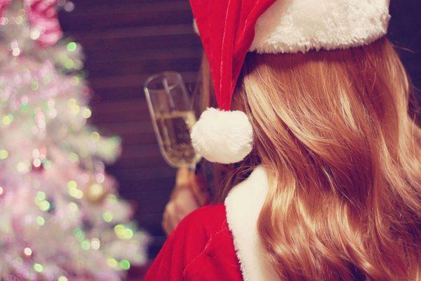 ガーリー クリスマス サンタ